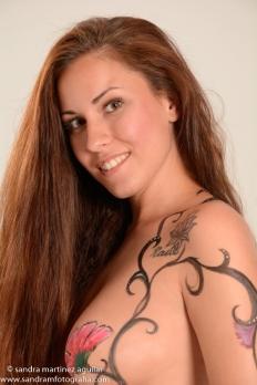 embarazo body painting